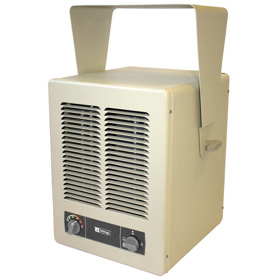 Space heater bathroom - King 20 484 Btu Electric Space Heater