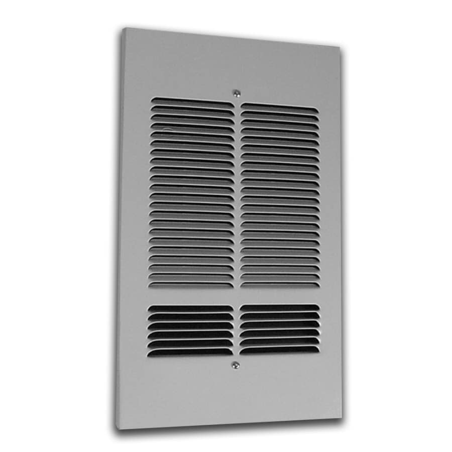 King Silver Steel Louvered Sidewall/Ceiling Grille (Rough Opening: 10-in x 17-in; Actual: 10-in x 17-in)