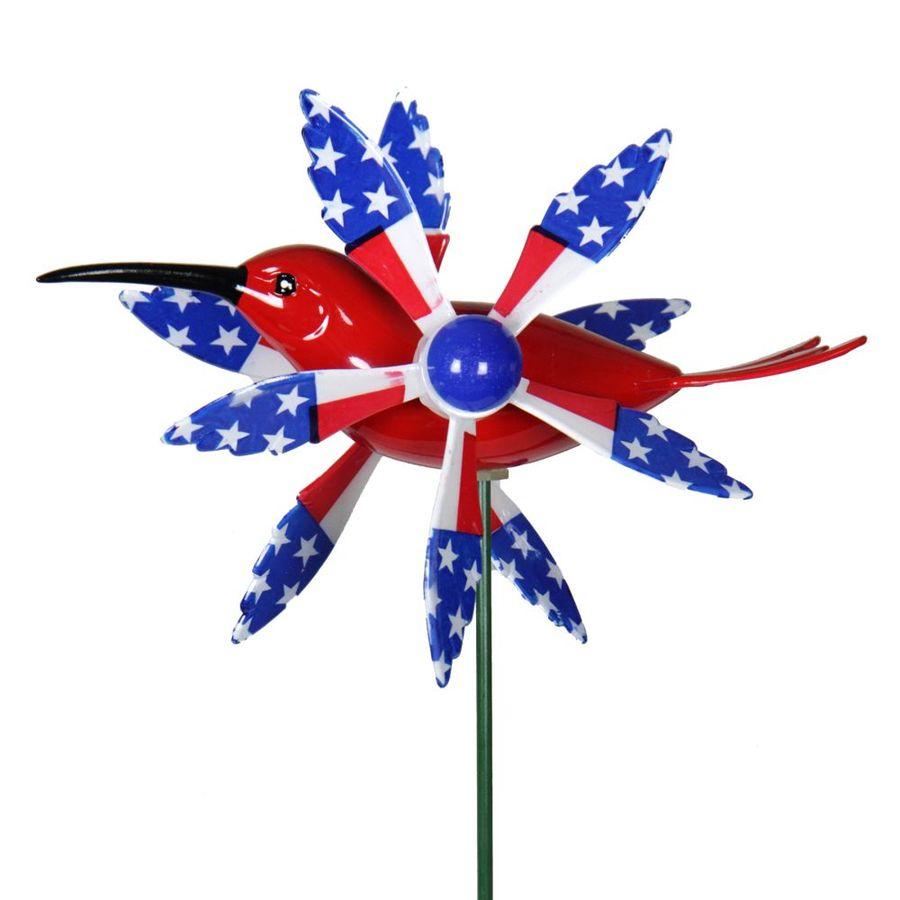 WindyWings Whirligig Hummingbird Garden Stake