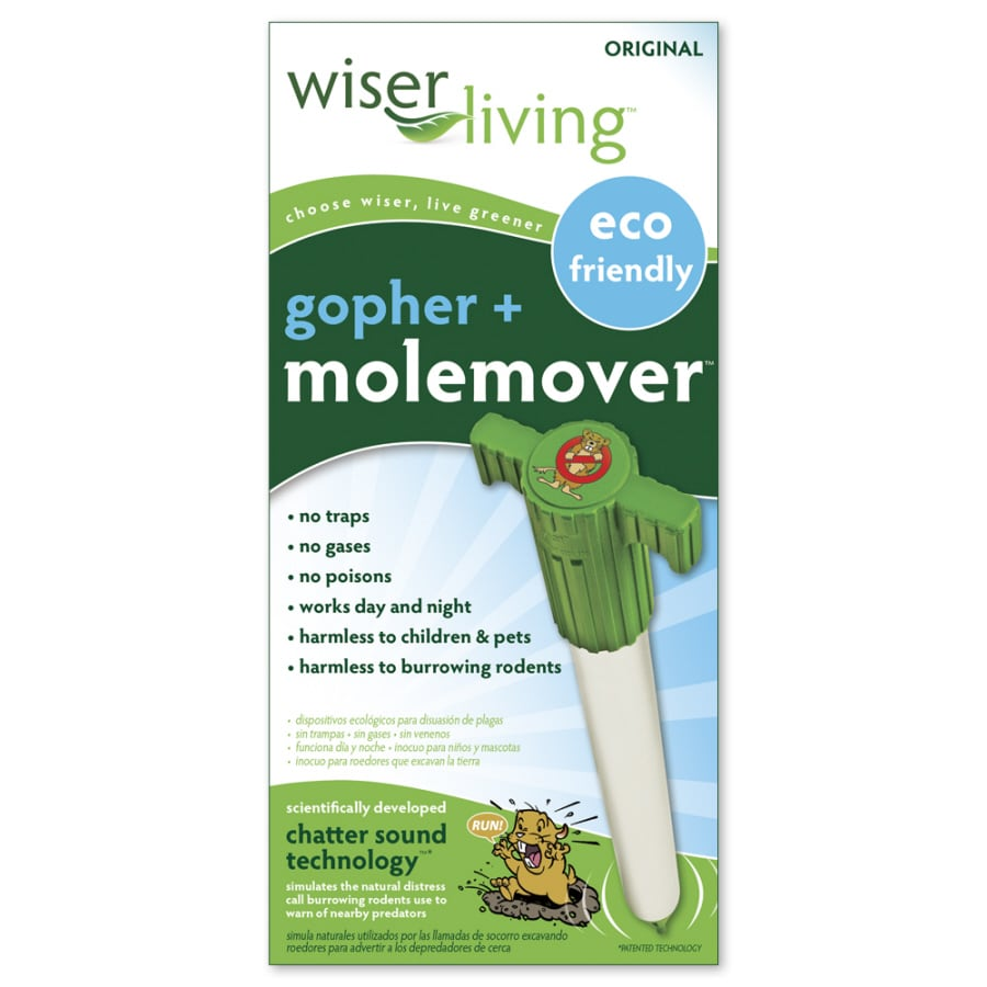 MoleMover Wiser Living Gopher and Mole Mover