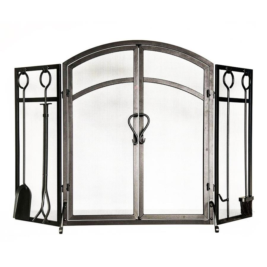 shop style selections 50 3 in eggshell black powder coated steel 3