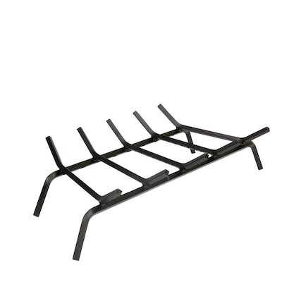 1 2 In Steel 27 In 5 Bar Fireplace Grate With Ember Retainer At