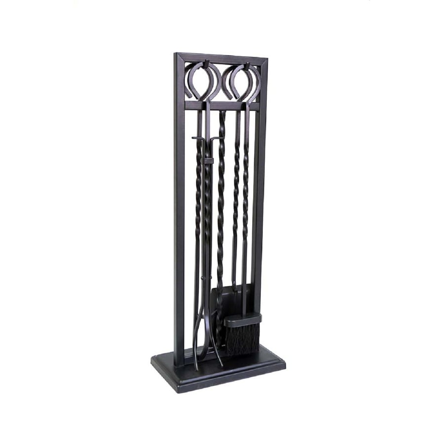 Style Selections 4-Piece Steel Fireplace Tool Set - Shop Style Selections 4-Piece Steel Fireplace Tool Set At Lowes.com