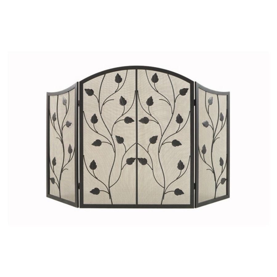 Shop Style Selections Leaf Design Fireplace Screen at Lowes.com