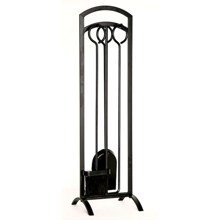 Shop style selections piece steel fireplace tool set at