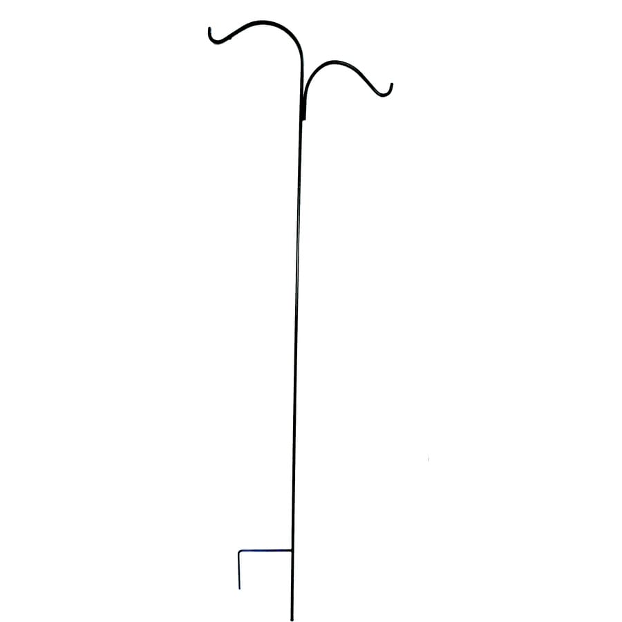 Garden Treasures 84-in Steel-Painted Metal Shepherd's Hook