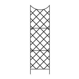 108 In H Giant Trellis, Includes Wall Mount Brackets Black