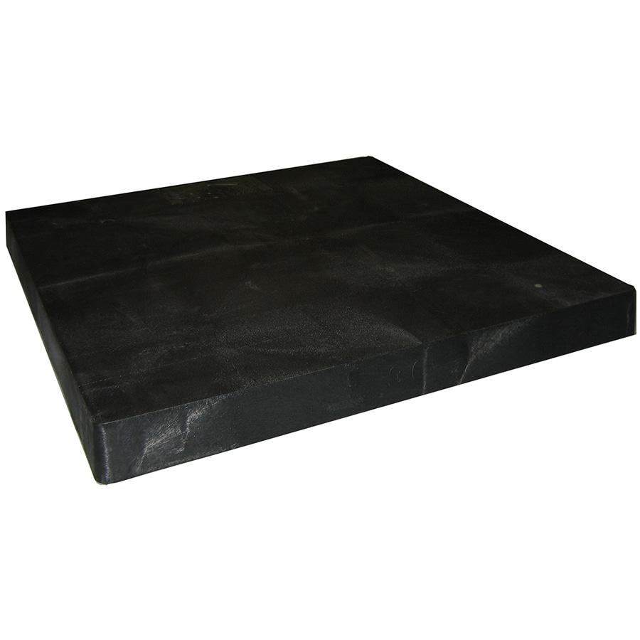 Shop winchester air conditioner condenser pad at for Air conditioner pad concrete