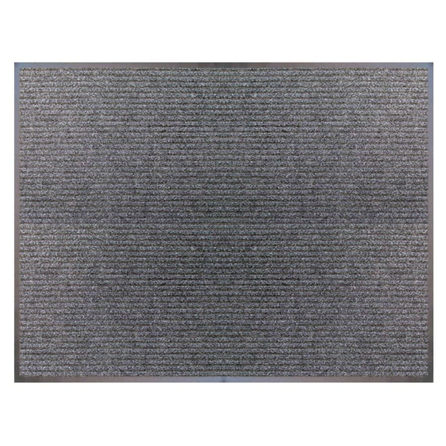 Blue Hawk Charcoal Rectangular Door Mat (Common: 36-in x 48-in; Actual: 36-in x 48-in)