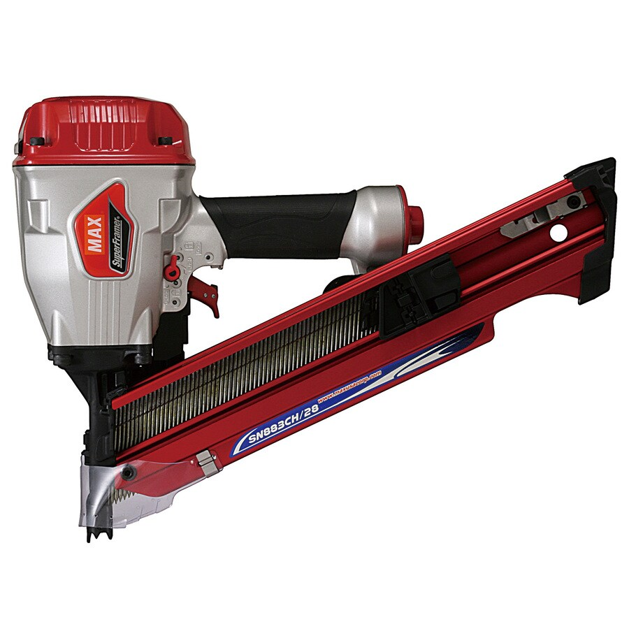 MAX 28° Clipped Head SuperFramer Pneumatic Nailer