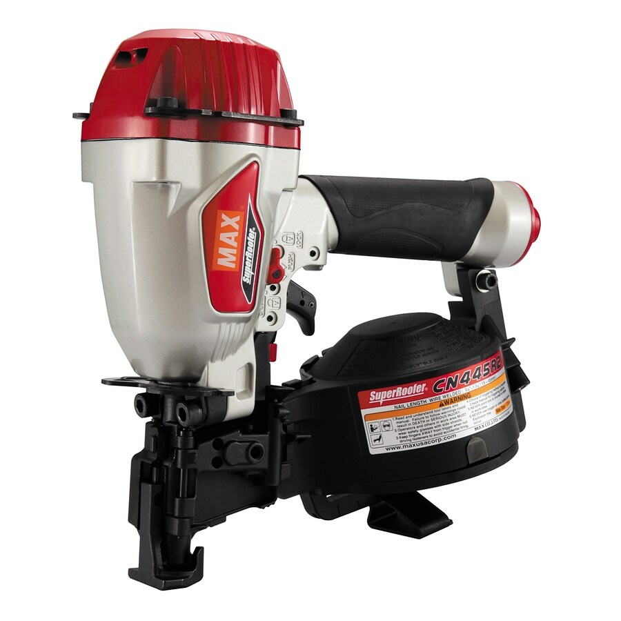 Max Superroofer Coil Roofing Nailer At Lowes Com