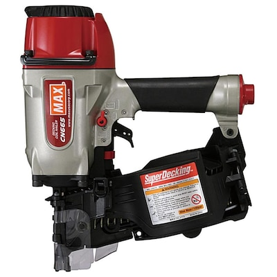 Max 2 5 In 15 Degree Siding Nail Gun At Lowes Com