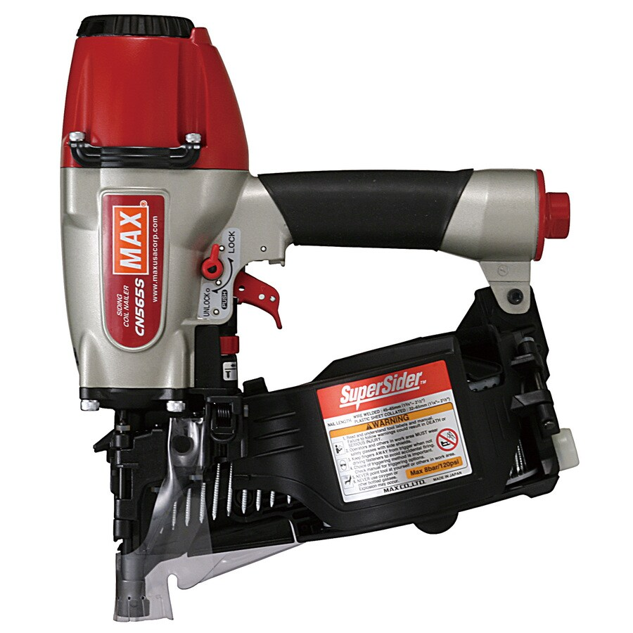 Shop Max Roundhead Siding Pneumatic Nailer At Lowes Com