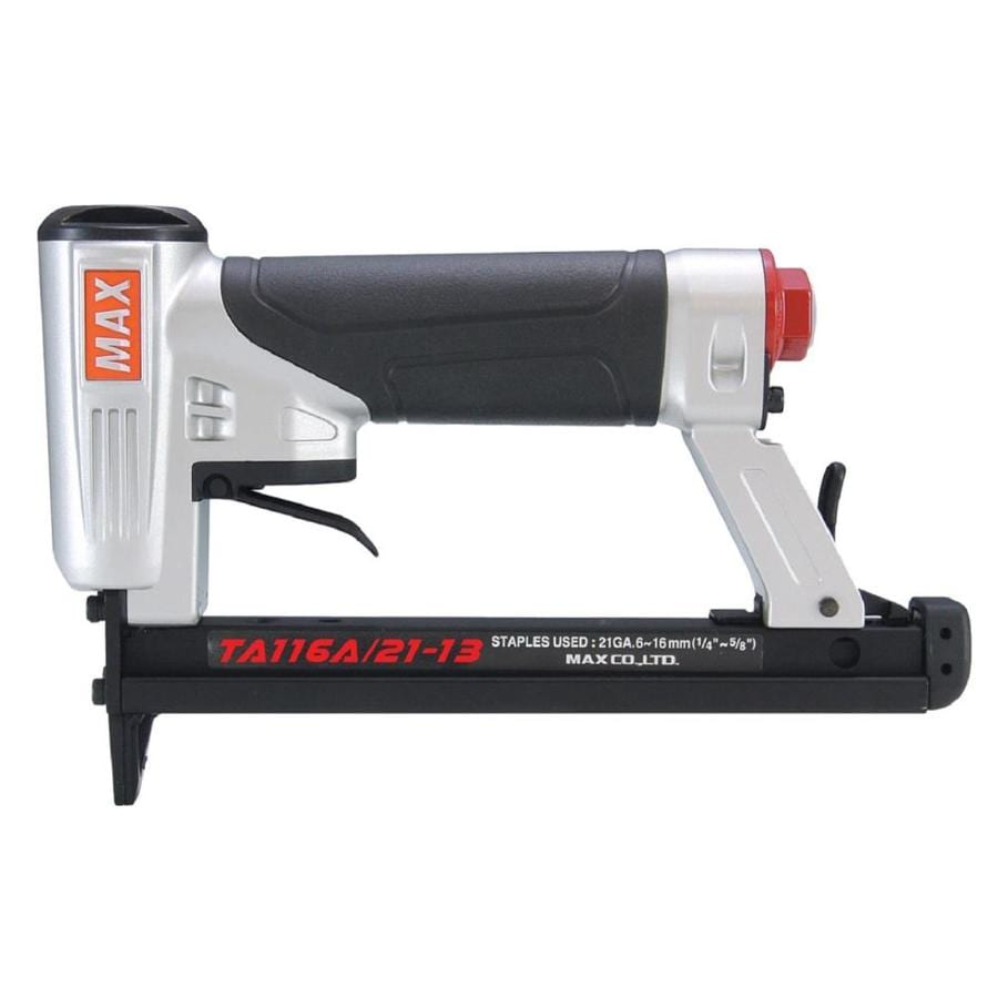 Shop MAX Fine Wire Stapler 1/2-in Pneumatic Stapler at Lowes.com