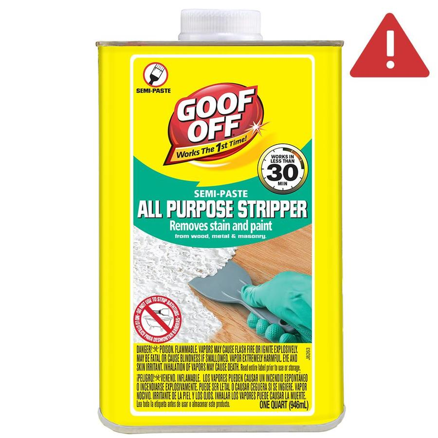 Goof Off 1-Quart Semi-Paste Multi-Surface Paint Remover