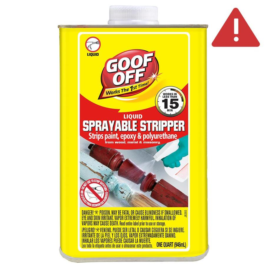 Goof Off 1-Quart Liquid Multi-Surface Paint Remover