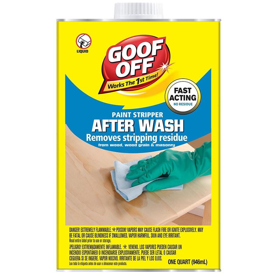 Goof Off 1-Quart Liquid Multi-Surface Paint Remover