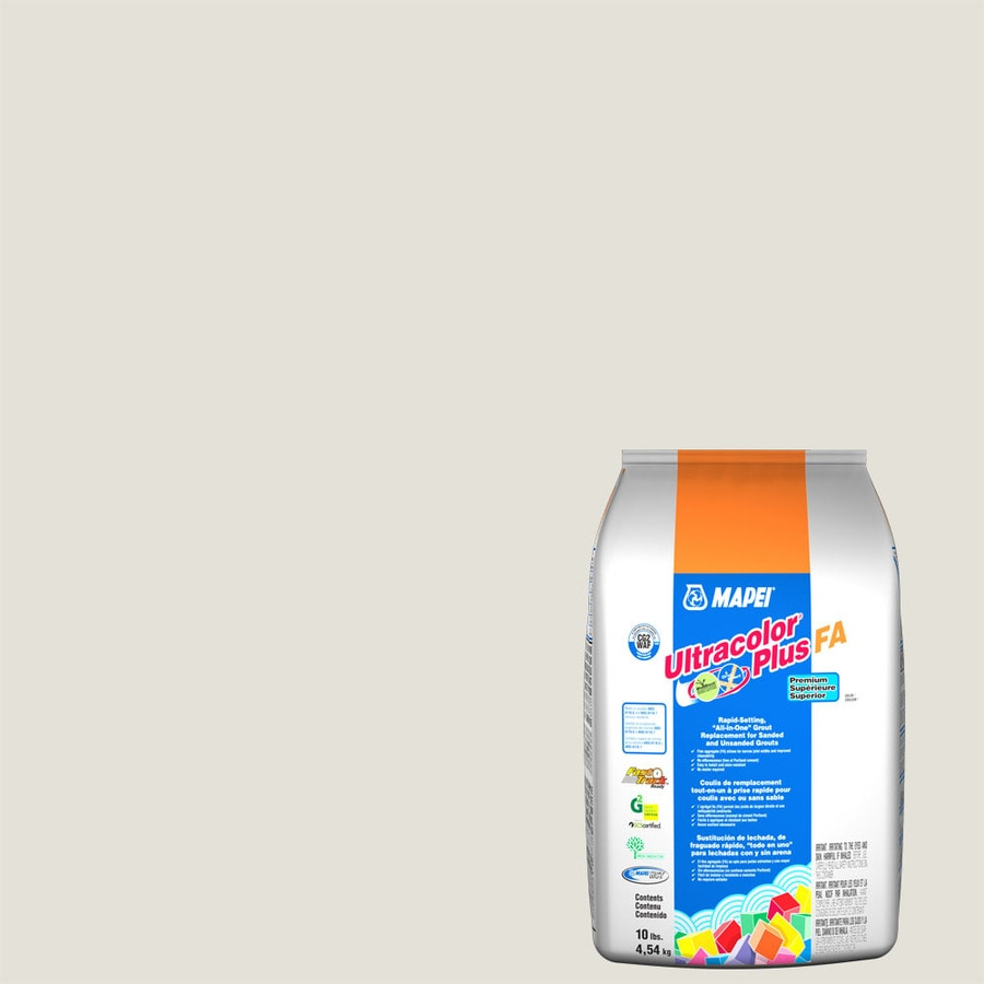 MAPEI Ultracolor Plus FA 10-lb White Sanded/Unsanded Powder Grout
