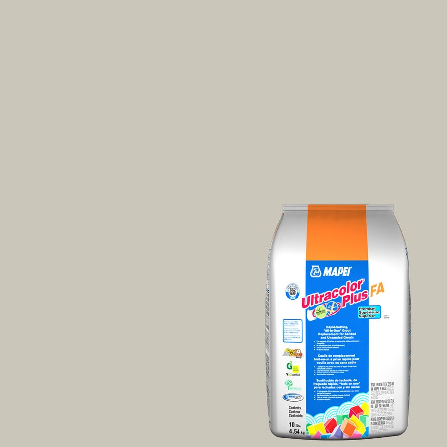 MAPEI Ultracolor Plus FA 10-lb Alabaster Sanded/Unsanded Powder Grout