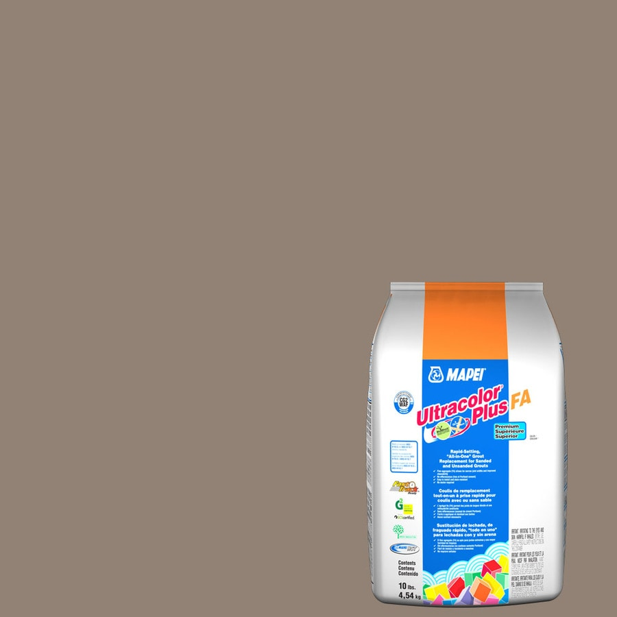 MAPEI Ultracolor Plus FA 10-lb Walnut Sanded/Unsanded Powder Grout