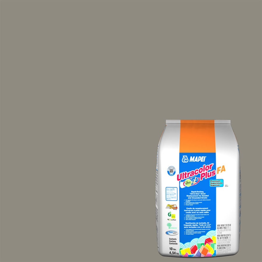 MAPEI Ultracolor Plus FA 10-lb Pewter Sanded/Unsanded Powder Grout