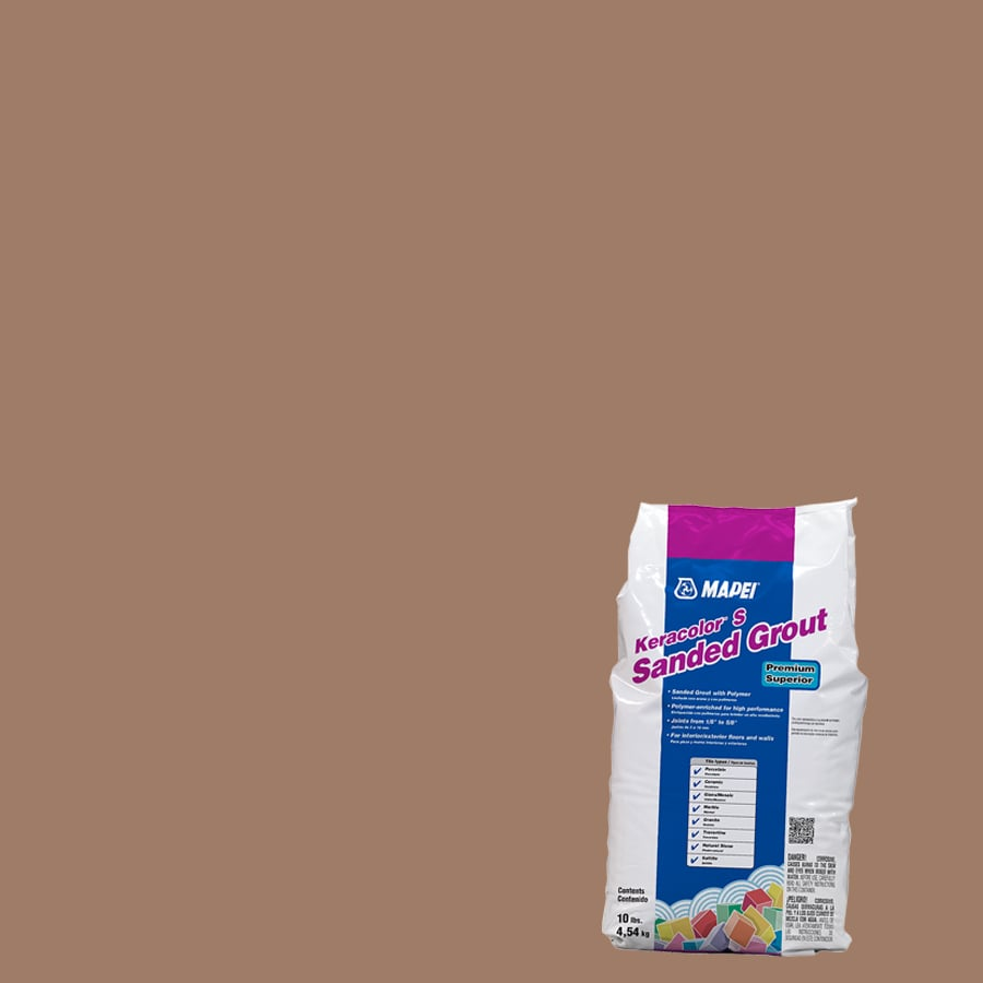 MAPEI 10-lb Toffee Sanded Powder Grout