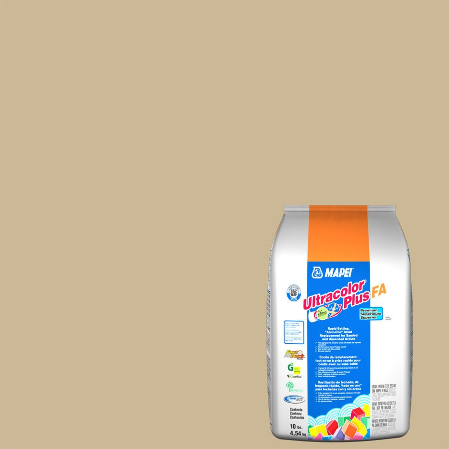 MAPEI Ultracolor Plus FA 10-lb Harvest Sanded/Unsanded Powder Grout