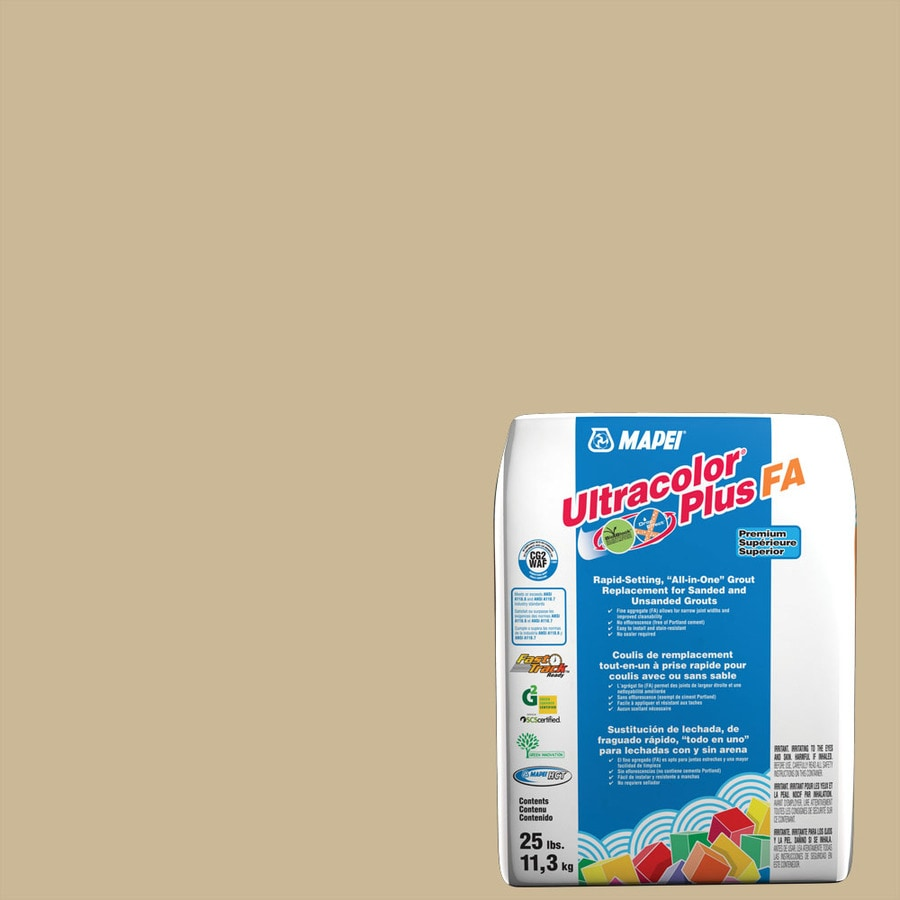 MAPEI Ultracolor Plus FA 25-lb Harvest Sanded/Unsanded Powder Grout