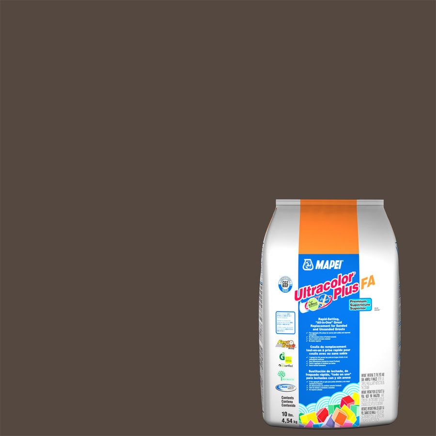 MAPEI Ultracolor Plus FA 10-lb Chocolate Sanded/Unsanded Powder Grout