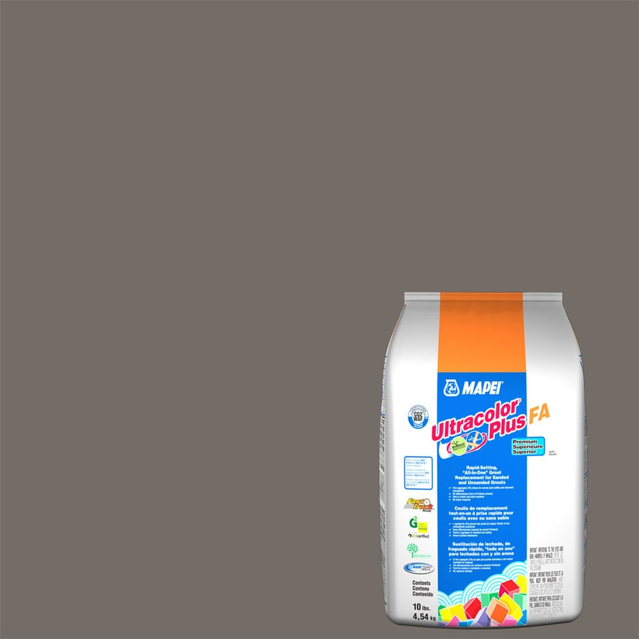 MAPEI Ultracolor Plus FA 10-lb Gray Sanded/Unsanded Powder Grout