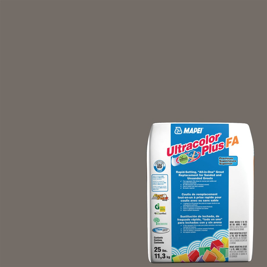 MAPEI Ultracolor Plus FA 25-lb Gray Sanded/Unsanded Powder Grout
