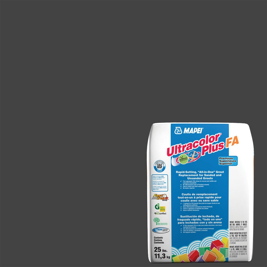 MAPEI Ultracolor Plus FA 25-lb Black Sanded/Unsanded Powder Grout