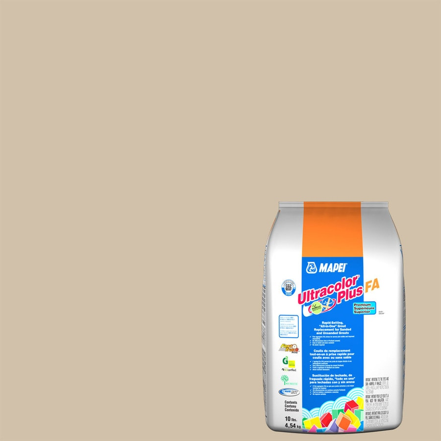 MAPEI Ultracolor Plus Fa 10 Pound(S) Bone Sanded/Unsanded Powder Grout