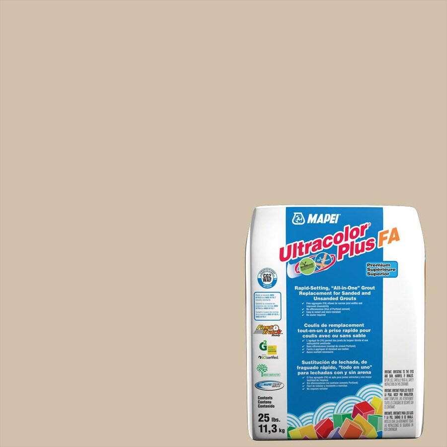 MAPEI Ultracolor Plus FA 25-lb Bone Sanded/Unsanded Powder Grout