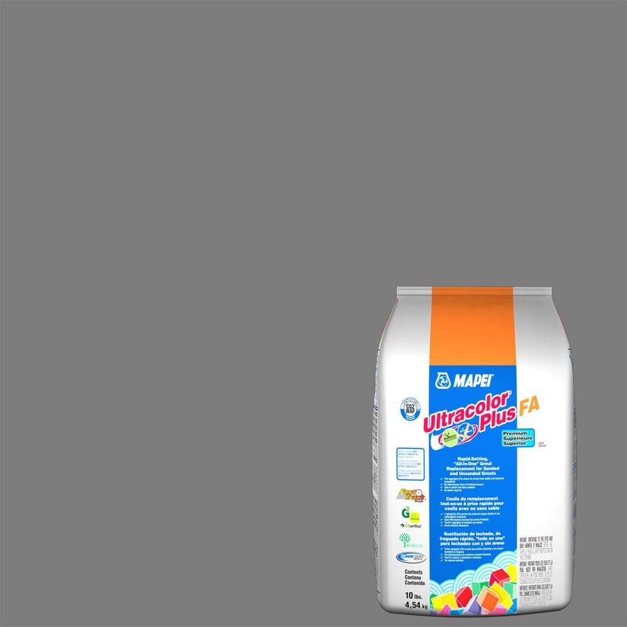 MAPEI Ultracolor Plus FA 10-lb Pearl Gray Sanded/Unsanded Powder Grout