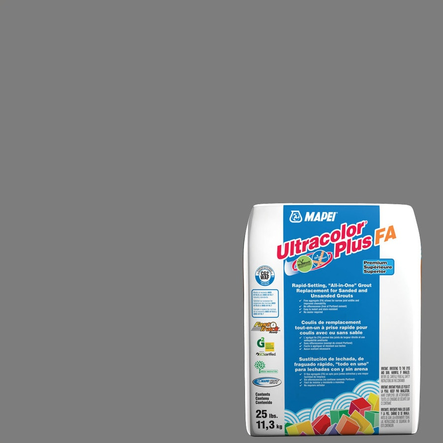 MAPEI Ultracolor Plus FA 25-lb Pearl Gray Sanded/Unsanded Powder Grout