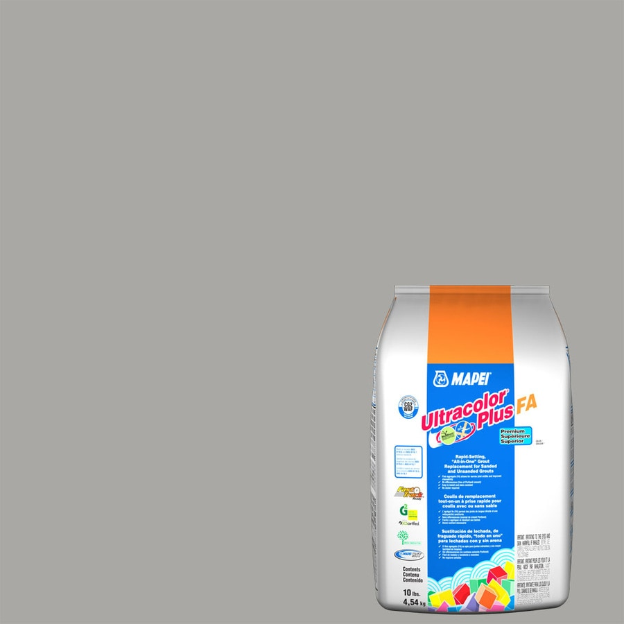 MAPEI Ultracolor Plus FA 10-lb Silver Sanded/Unsanded Powder Grout