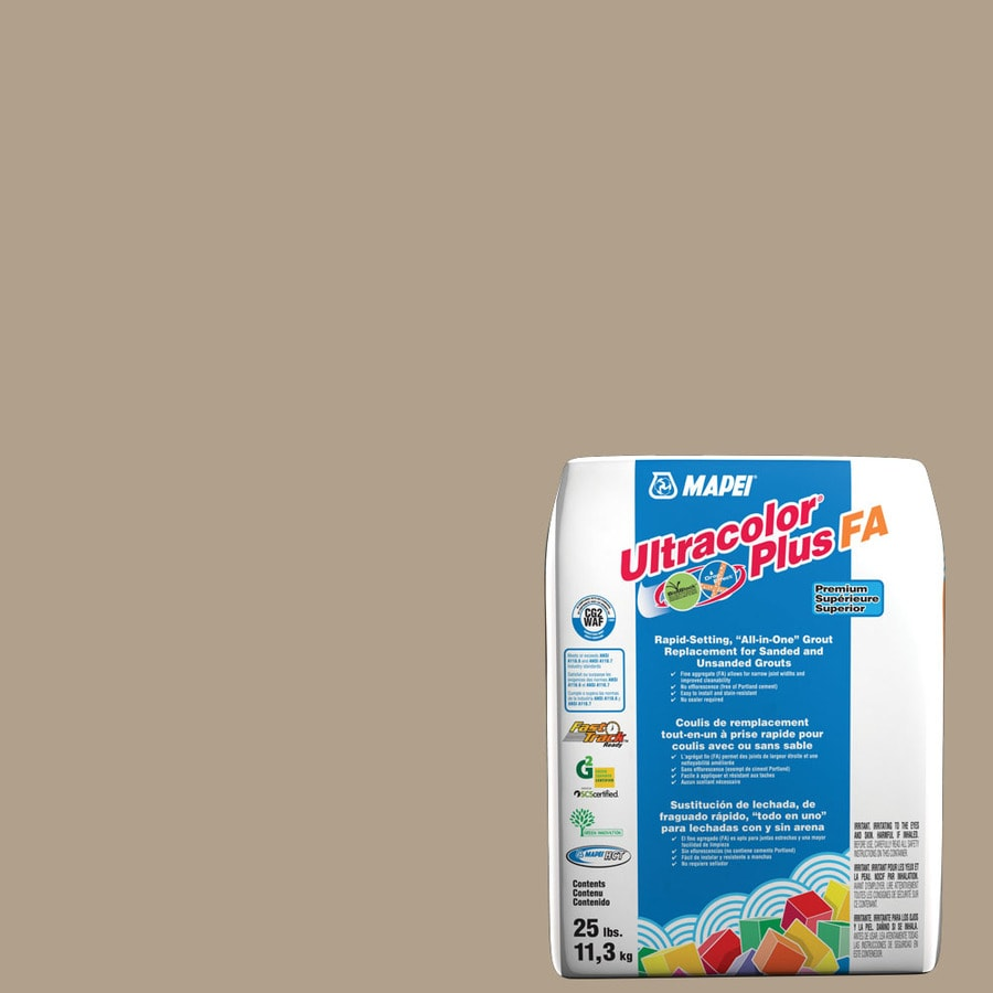 MAPEI Ultracolor Plus FA 25-lb Navajo Brown Sanded/Unsanded Powder Grout