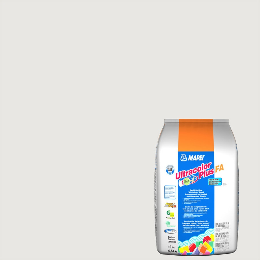 MAPEI Ultracolor Plus FA 10-lb Avalanche Sanded/Unsanded Powder Grout
