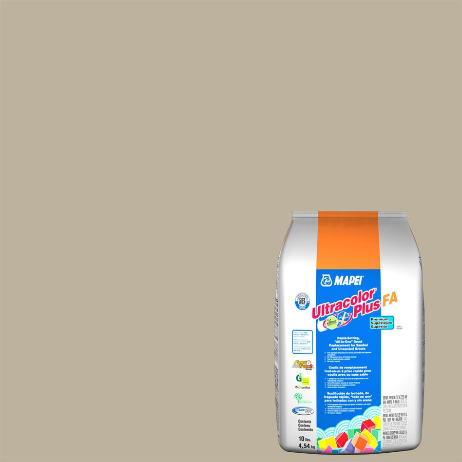 MAPEI Ultracolor Plus FA 10-lb Ivory Sanded/Unsanded Powder Grout