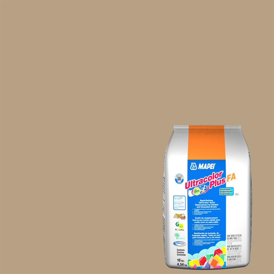 MAPEI Ultracolor Plus FA 10-lb Pale Umber Sanded/Unsanded Powder Grout