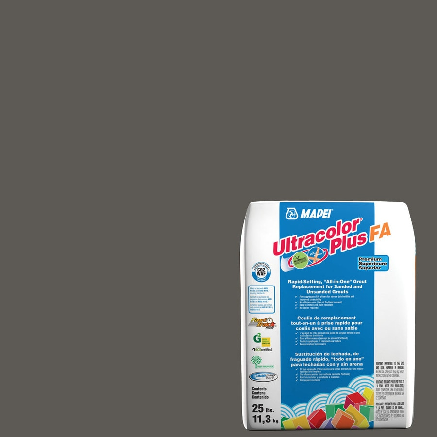 MAPEI Ultracolor Plus FA 25-lb Charcoal Sanded/Unsanded Powder Grout
