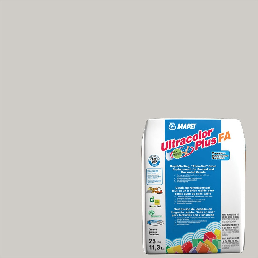 MAPEI Ultracolor Plus FA 25-lb Frost Sanded/Unsanded Powder Grout