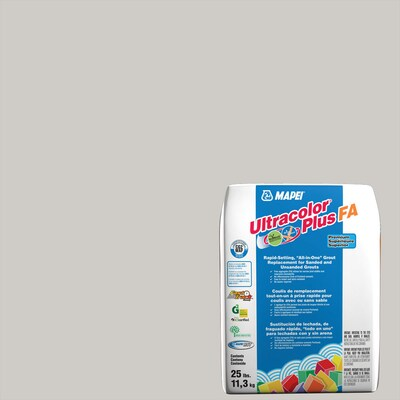 MAPEI Ultracolor Plus FA 25-lb Frost All-in-one Grout at