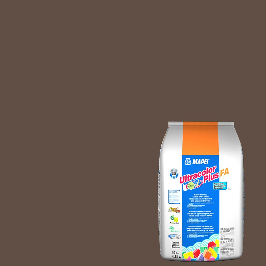 MAPEI Ultracolor Plus FA 10-lb Cocoa Sanded/Unsanded Powder Grout