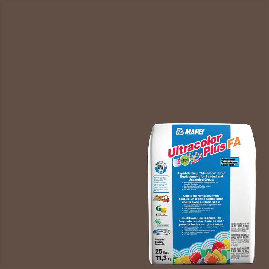 MAPEI Ultracolor Plus FA 25-lb Cocoa Sanded/Unsanded Powder Grout