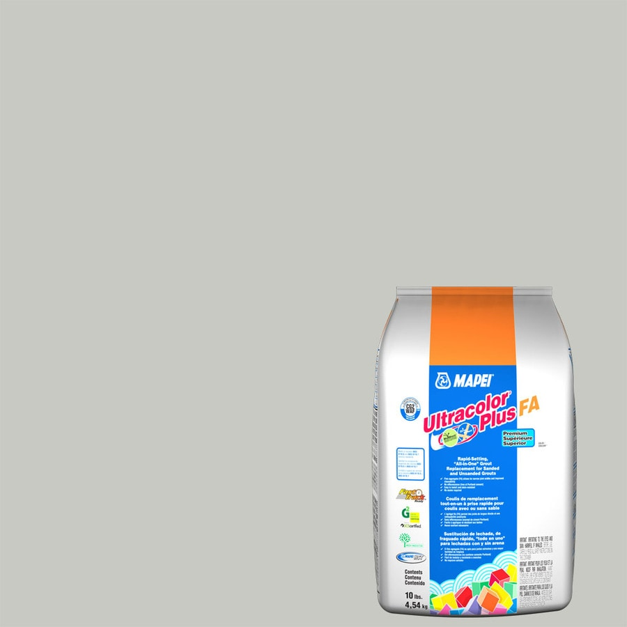 MAPEI Ultracolor Plus Fa 10 Pound(S) Warm Gray Sanded/Unsanded Powder Grout