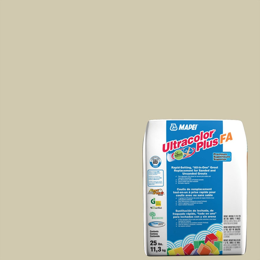 MAPEI Ultracolor Plus FA 25-lb Straw Sanded/Unsanded Powder Grout