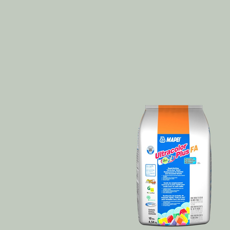 MAPEI Ultracolor Plus FA 10-lb Mint Sanded/Unsanded Powder Grout
