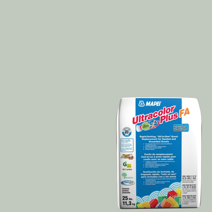 MAPEI Ultracolor Plus FA 25-lb Mint Sanded/Unsanded Powder Grout